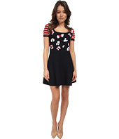 RED VALENTINO - Summer Leo Intarsia Dress