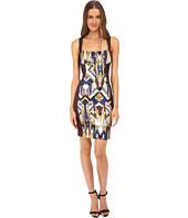 Just Cavalli - Sleeveless Dress Print Front Panel