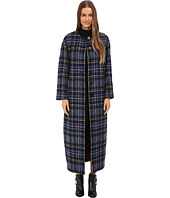 LOVE Moschino - Plaid Duster Coat