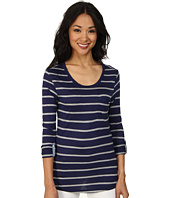 U.S. POLO ASSN. - Striped Long Sleeve Pocket T-Shirt