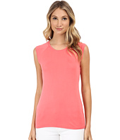 BCBGMAXAZRIA - Cristi Sleeveless Cowl Back Top