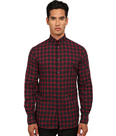 DSQUARED2 - Tab Checks Cotton Button Up Shirt