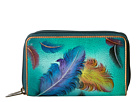 1125 Twin Zip Organizer Wallet