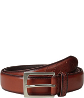 Florsheim - Full Grain Leather Belt with Wing Tip Style Tail 32mm