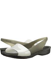 Crocs - Color Block Translucent Slingback Flat