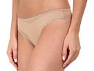 Solid Gossamer Mesh Hip Bikini 3202
