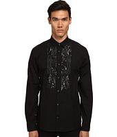 Just Cavalli - Embellished Paisley Tuxedo Shirt