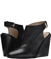 See by Chloe - Grainy Leather Slingback On A Wedge