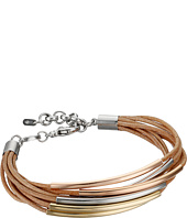Fossil - Mini Leather Corded Bracelet