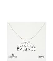 Dogeared - Balance Medium Square Bar Necklace