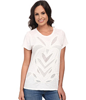 Lucky Brand - Cut Out Mesh Top