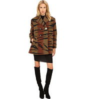 Vivienne Westwood - Tiger Stripe Blanket Princess Car Coat