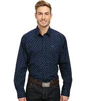 Cinch - Long Sleeve Plain Weave Print Shirt