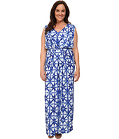 MICHAEL Michael Kors - Plus Size Glazed Tile Maxi