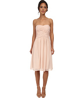 Donna Morgan - Anne Short Strapless Chiffon Dress