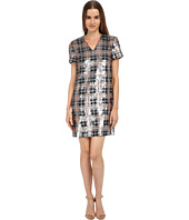 Kate Spade New York - Sequin Plaid Shift Dress