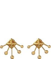 Rebecca Minkoff - Pyramid Fan Stud Earrings