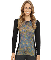 Hot Chillys - Micro-Elite Chamois Sublimated Print Crewneck