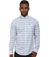Original Penguin - Horizontal Dobby W. End On End Stripe Long Sleeve Woven Heritage Shirt