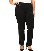 Jag Jeans Plus Size - Plus Size Peri Pull On Straight Twill in Black