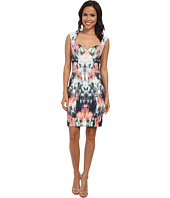 Nicole Miller - Canopy Neoprene Sweetheart Sheath Dress