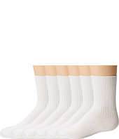 Jefferies Socks - Seamless Casual Crew 6 Pair Pack (Infant/Toddler/Little Kid/Big Kid)