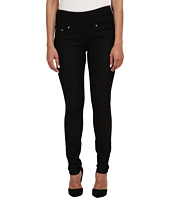 Jag Jeans Petite - Petite Nora Pull On Skinny Knit Denim in Black Rinse