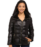 Calvin Klein - Short Down Coat w/ Gold Hardware