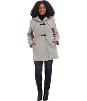Jessica Simpson - Plus Size Braided Wool Duffle Coat
