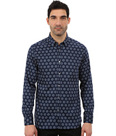 Ted Baker - Beastie Long Sleeve Large Spot Print Shirt