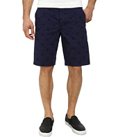 French Connection - Isizwe Embroidered Twill Shorts