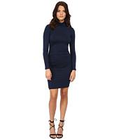 Michael Stars - Exclusive L/S Turleneck Dress w/ Shirring