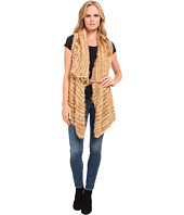 kensie - Furry Stripe Vest KS9K5788