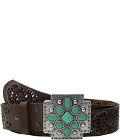 Ariat - Southwest Cross Buckle Pierced Belt