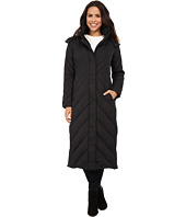 Larry Levine - Maxi Down with Racoon Faux Fur Hood