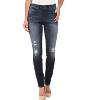 Miraclebody Jeans - Rikki Rip & Repaired Jeans in Brighton Blue
