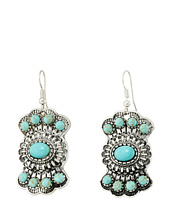 M&F Western - Fishhook Stoned Drop Earrings
