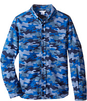 Little Marc Jacobs - Chambray Camoflage Shirt (Big Kids)