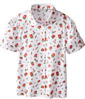 Dolce & Gabbana Kids - Back to School Floral Print Shirt (Toddler/Little Kids)