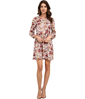 TWO by Vince Camuto - Long Sleeve Lyrical Floral Babydoll Dress