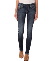 Rock and Roll Cowgirl - Mid Rise Skinny in Dark Vintage W1S4500