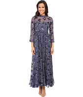 Rebecca Taylor - Long Sleeve Alyssum Print Maxi Dress