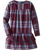 Oscar de la Renta Childrenswear - Multi Plaid Wool Dress (Toddler/Little Kids/Big Kids)