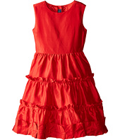 Oscar de la Renta Childrenswear - Taffeta Multi Ruffle Dress (Toddler/Little Kids/Big Kids)