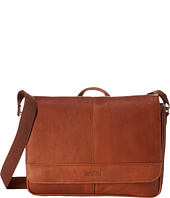 Kenneth Cole Reaction - Risky Business Colombian Leather Flapover Messenger Bag