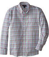 Oscar de la Renta Childrenswear - Cotton Long Sleeve Woven Shirt (Toddler/Little Kids/Big Kids)