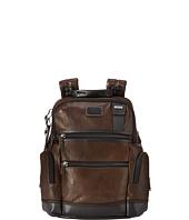 Tumi - Alpha Bravo - Knox Leather Backpack
