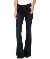 Hudson - Mia Five-Pocket Mid Rise Flare Jeans in Oracle