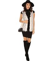 kensie - Spotted Fur Vest KS0K2160