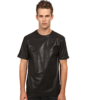 Pierre Balmain - Leather Style T-Shirt